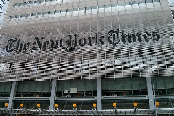 New York Times Main Building Editorial